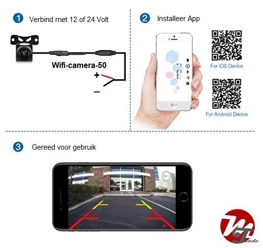 Wifi HD camera-set 50