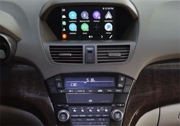 CARPLAY / ANDROID AUTO INTERFACE
