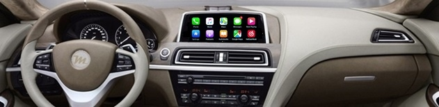 USB AUX dash mount